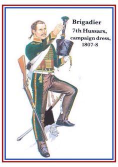 Brigadiere del 7 rgt. ussari francese
