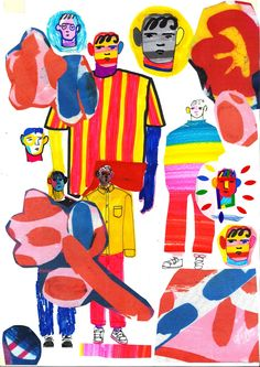 Art and Craft Meets Fashion in John Booth's Exuberant Work | AnOther