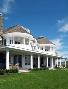Love, love, love these balconies - Cambridge, Massachusetts.