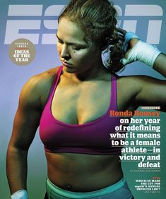 Down, but not out: Former UFC champion Ronda Rousey, is speaking out for the first time about her stunning upset loss to Holly Holm in the new issue of ESPN magazine Tyler Durden, Muay Thai, Jiu Jitsu, Ronda Rousey Mma, Rhonda Rousy, Thai Boxe, Rowdy Ronda, Ufc Women, My Champion