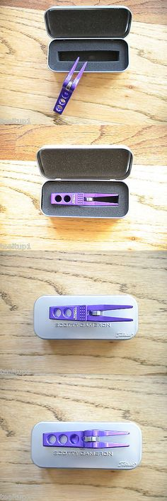 Divot Tools 108166: Scotty Cameron High Roller Clip Pivot Divot Tool Electric Purple Rare New Pga -> BUY IT NOW ONLY: $299.99 on eBay!