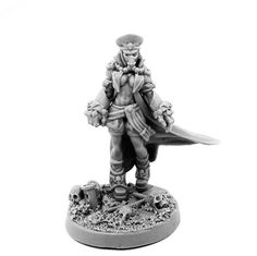 PIN UP Female Commissar OF Militarum Imperial Astra Guard With Power Fists | eBay