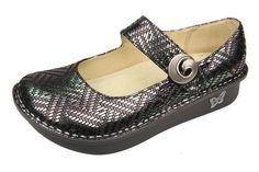 "Alegria Shoes Paloma ""Pewter Dazzler"" Mary Jane at Alegria Shoe Shop"