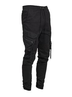Black Tactical Pants, Twill Pants, Denim Coat, Mens Fashion, Fashion Outfits, Black Pants, Street Wear, Cute Outfits, Menswear