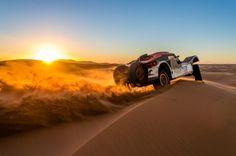 Manejar en el Rally Dakar