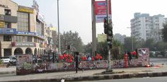 Residents say political and commercial posters have marred the urban landscape. Can SDMC and the police please pull up their socks?