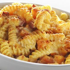 Spirali trafilate in bronzo dolci e salate gratinate. #food #recipes #pasta #italy