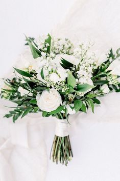 All White Wedding Bouquets Inspiration ❤ Weitere Informationen: www. Bridal Flowers , All White Wedding Bouquets Inspiration ❤ Weitere Informationen: www. All White Wedding Bouquets Inspiration ❤ Weitere Informat. Bridesmaid Bouquet White, White Wedding Bouquets, Bride Bouquets, Floral Wedding, Wedding Colors, Wedding Ideas, Wedding Hacks, Wedding Planning, White Flowers Bouquet
