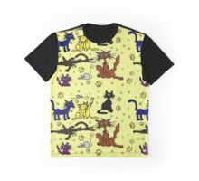 'Stray Cats Funny Cartoon' by jaggerstudios Funky Outfits, Cartoon T Shirts, Funny Cats, Artwork, Mens Tops, Clothes, Accessories, Outfits, Modern Outfits