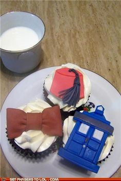 Doctor Who Cupcakes!