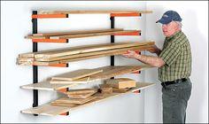 Portamate® 5-Shelf Wood Rack - Hardware