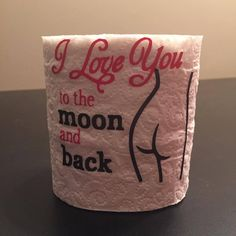 Order it on http://Papr.Club - Valentines Toilet paper roll