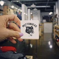 #StrayMutt stickers are in the shop. Open today till 5. We will be sticking these around Toronto. If you find the one in our secret location, post it, and tag it #StrayMuttContest. First person to find it will our fall prize pack. #Muttonhead