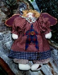 angel pattern, kit or finished doll