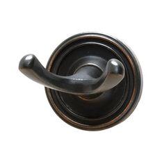 Residential Essentials 2203 Double Robe Hook with Inch Backplate from the Venetian Bronze Bathroom Hardware Robe Hook Bronze Bathroom, Bathroom Hardware, Kitchen Towel Rack, Towel Hooks, Bradford, Venetian, Door Handles, Essentials, 1 Year