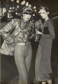 "Vogue US August 1975 ""The New Ease"" ph: Arthur Elgort"