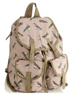 I never thought I'd be wanting a rucksack again!
