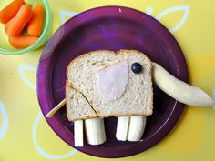 Mess For Less: Food Fun Friday - Creative Kid Snacks - Guest Post from Sugar and Spice