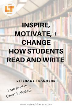 Join Literacy Teachers and learn countless ways to inspire, motivate, and change how your students read, write, listen, and speak for academic success! Our blog offers links to FREE PD Hours, our high quality Youtube Channel, and a FREE ANCHOR chart! More FREEBIES to come! #middleschoostudents #highschoolstudents #middleschoolteachers #highschoolteachers #teachreading #teachwriting #discussiontechniques Academic Vocabulary, Academic Success, Teaching Writing, Teaching Tips, Reading Strategies, Reading Comprehension, Middle School Teachers, High School, Reading Practice
