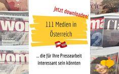 111 Medien in Österreich Blog, Communication, Psychics, Literature, Blogging