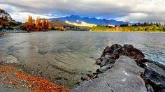 fall lake mountain wallpaper
