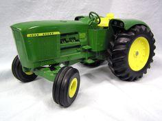 Vintage 1970s Ertl John Deere 5020 Diesel Tractor 1/16 Diecast Metal Farm Toy by MermeowTreasures on Etsy