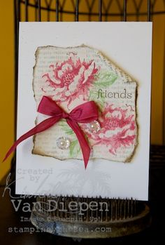 Kimberly Van Diepen stampin' up demonstrator,