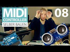 MIDI-Controller selber bauen (E08) Ultraschall-Sensor HC-SR 04 mit Arduino Tutorial - YouTube