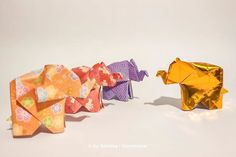 The home adventures of the golden origami: So, this little guy is making some new friends. Origami Animals, New Friends, Guy, Adventure, How To Make, Adventure Movies, Adventure Books