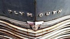 Vintage car in Waxahachie