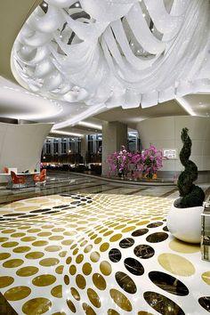 Hotel lobby design lobby design and lobbies on pinterest for Top interior design firms dubai