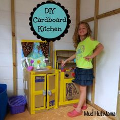 DIY Play Kitchen Set - Mud Hut Mama