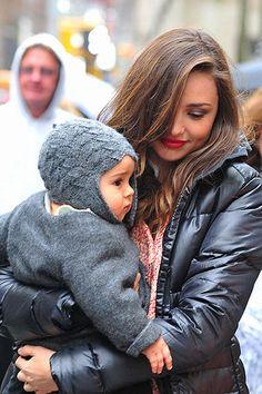 #Winterfashion Miranda Kerr street style