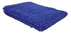 Bathroom Rugs Ideas | J  M Home Fashions Popcorn Bath Rug 22Inch by 30Inch Royal Blue -- Continue to the product at the image link. Note:It is Affiliate Link to Amazon.