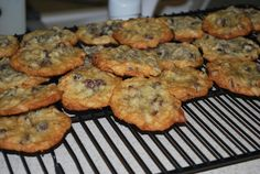Coconut Chocolate Chip Cookies (Paradise Bakery copy cat recipe)