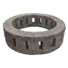 Add warmth and character to your backyard with Mutual Materials RomanStack Stonehenge Fire Pit Kit. Serving as a focal point for your outdoor living space, fire pits are great for providing a space for your family and friends to gather around throughout through all 4-seasons. Available in 3-colors Mutual Materials Square Fire Pit Kit can be assembled in minutes and serve you for years to come. Color: Gray.