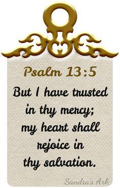Sandra's Ark: Pondering the Psalms - Psalm 13