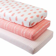Shop Wild Excursion Pig Crib Fitted Sheets (Set of 3).  Our Wild Excursion Pig Crib Fitted Sheets set includes three coordinated crib sheets that are as comfy as they come.