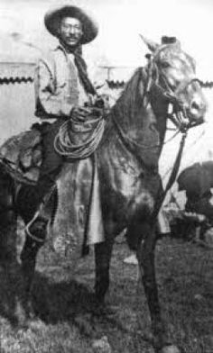 """I know you may have heard of the """"Buffalo Soldiers"""" -but that was only part of the story. According to historians, about a third of all the cowboys were African Americans.Bet you never saw that in the movies when you were growing up did you?  Neither did I!"""