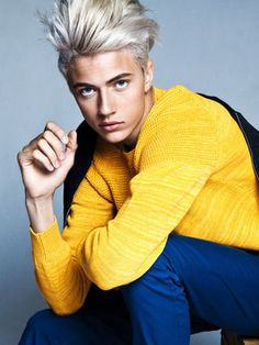Lucky Blue Smith. How can you NOT be lucky if you meet him???