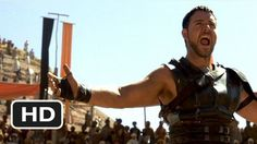 best fight scene - Gladiator (2000).  Are you not entertained?  Crowd cheering the Spaniard.