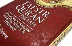 Tafsir Qur'an Perkata - Al-Qur'an ini dilengkapi dengan Asbabun Nuzul dan Terjemah. Dan ada pernyataan Kesaksian dari Tokoh dan Ulama seperti Ustadz Yusuf Mansur, Ustadz Muhammad Arifin Ilham dan banyak lagi.  Rp. 90.000,-  Hubungi: +6281567989028  Invite: BB: 7D2FB160 email: store@nikimura.com  #bukuislam #tokomuslim #tokobukuislam #readystock #tokobukuonline #bestseller #Yogyakarta #alquran