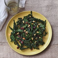 Lunch never looked so good with this Tuscan Kale Salad recipe from Simple® Advisory Board Nutritionist, @elliekrieger.
