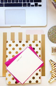 Gorgeous kate spade desk accessories