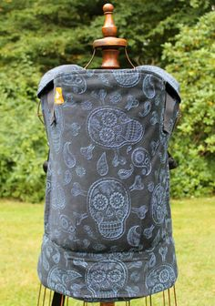 Joy and Joe Shiver Me Paisley (Customized by CRANBERRY CREEK KIDS) Tula Baby Carrier