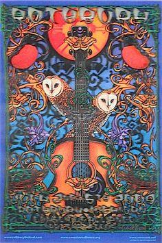 2009 Rothbury Festival - 3-D Concert Poster by Michael Everett