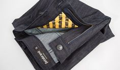 Betabrand READY Jeans Protected by Norton folded product shot