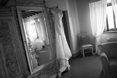 A sensual wedding gown - it brought out all the beauty and a touch of lust - perfect ingredients for a stunning bride...