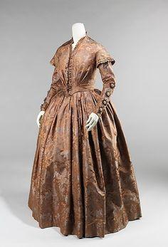 Вечернее платье. США. 1845-50 гг.