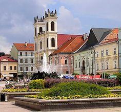 Banska Bystrica Main Square in Slovakia. Photo via Wikimedia Commons